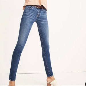 """Madewell 8"""" Skinny Jeans Size 27 Tall Style H2290"""